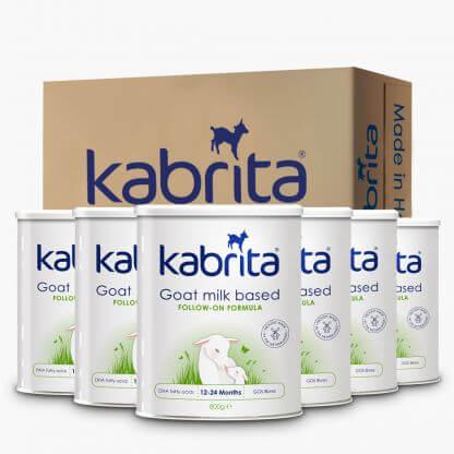 Kabrita Goat Milk Based Follow-On Formula 12-24 Months Carton (6 x 800g)